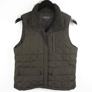 Kenneth Cole Reaction Womens Medium Vest Green